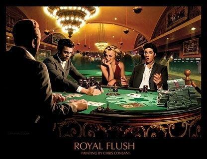 Monroe, Presley, Dean (Chris Consani) - Obraz, reprodukcja