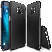 RINGKE Etui Slim Samsung Galaxy S7 Edge CZARNY NA TYŁ TWORZYWO SZTUCZNE