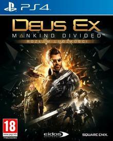 Deus Ex Mankind Divided Rozłam ludzkości D1 Edition PS4