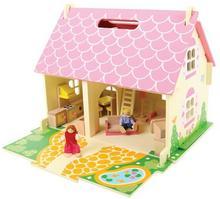 Domek dla lalek - przenośny