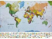 B2B Partner Świat - mapa polityczna 173011