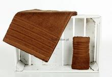 Ziplar ręcznik Frotte Porto 50x90 brąz