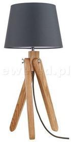 Spotlight RUNE lampka gabinetowa 1xE27 dąb / antracyt 6314170