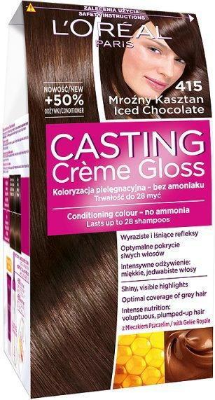 Loreal Casting Creme Gloss 415 Mrozny kasztan