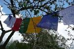 Flagi modlitewne z mantrami (długość 210cm) tfm2
