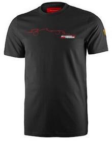 Ferrari F1 Koszulka Mens Graphic Tee 4 - Black