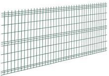 Panel ogrodzeniowy 3D 153 x 250 cm zielony