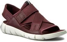 Ecco Sandały Intrinsic Sandal 84200352999 Bordeaux/Bordeaux
