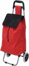 Wózek na kółkach, torba na zakupy - czerwony DW2190990-czerwony