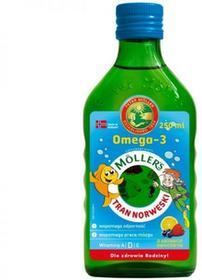 Orkla Health Sp z o.o Mollers Tran Norweski owocowy z kolorowym stempelkiem płyn 250 ml