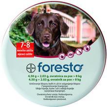 Bayer Foresto Obroża owadobójcza dla psów o masie ciała powyżej 8kg (dł.70cm)