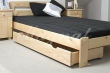 Szuflada pod łóżko 150 cm Sosna naturalna