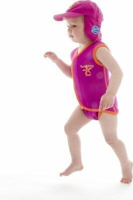 Splash About Neoprenowy mini-kombinezon pływacki Baby Wrap - różowy z mango