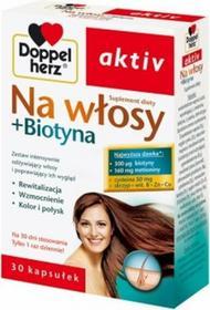 Queisser Pharma Doppelherz Aktiv Na Włosy + Biotyna 30 szt.