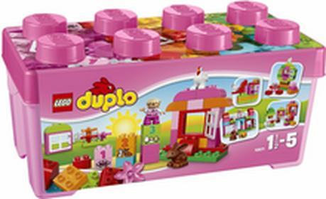 LEGO Duplo - Zestaw z różowymi klockami 10571