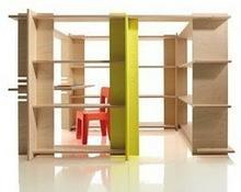 Magis Me Too System półek w zestawie z biurkiem My First Office mt370