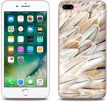 Etuo.pl Foto Case - Apple iPhone 7 Plus - etui na telefon Foto Case - białe pióra ETAP417FOTOFT017000