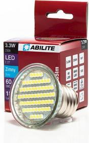 Abilite żarówka LED E27 60xSMD-3528 230V 3W 185Lm zimna biała 5902020580874