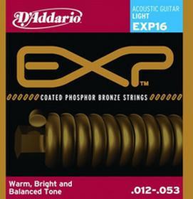 DAddarioEXP16 struny do gitary akustycznej 12-53 DADEXP16SGA1253