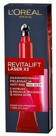 Loreal Krem pod oczy LOréal Revitalift Laser X3 Zaawansowana pielęgnacja Anti-Age 15 ml
