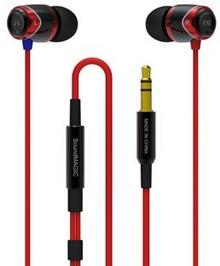 SoundMagic E10M Czarno-czerwone
