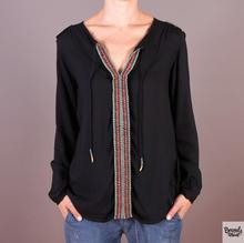 Roxy Bluzka Mimi Top - kolor czarny