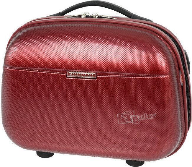 Puccini PCQM005 kuferek / kosmetyczka - czerwony PCQM005 3b