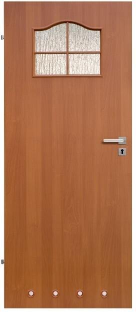 Drzwi z tulejami Klasyk 70 lewe olcha