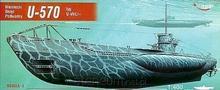 """Mirage Hobby Okręt Podwodny """"U-570"""""""