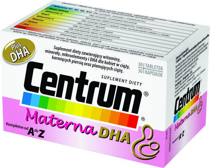 Wyeth Centrum Materna Plus Dha 30 szt.