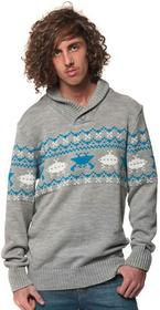 Horsefeathers HEY DUDE SWEATER (gray melange)