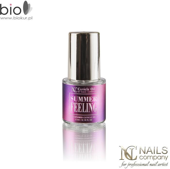 OLIWKA DO SKÓREK SUMMER FEELING NAILS COMPANY 5 ml