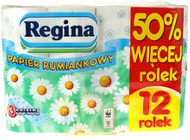 ReginaPapier toaletowy rumiankowy 12 szt.
