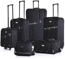 Sumatra Komplet bagażu: walizki + torby podróżne Cepheus SC13313-78/68/58/40/13k/LOT czar szar