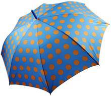Perletti Wesoła, duże automatyczne Parasolki dla kobiet w gwiazdki i grochy Nieb
