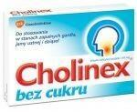 GlaxoSmithKline Cholinex bez cukru 150mg 24 szt.