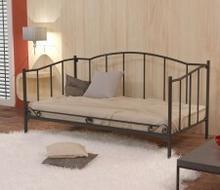 Lak System Łóżka metalowe Łóżko metalowe sofa 120x200 WZÓR 18 12020018