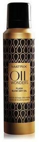 Matrix Oil Wonders Flash Blow Dry Oil | Olejek w sprayu przyspieszający suszenie włosów 185ml