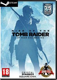 Crystal Dynamics Rise Of The Tomb Raider 20 Year Celebration Klucz Steam