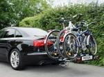 Eufab Składany bagażnik na rowery EUFAB PREMIUM III. uchwyt na hak + torba