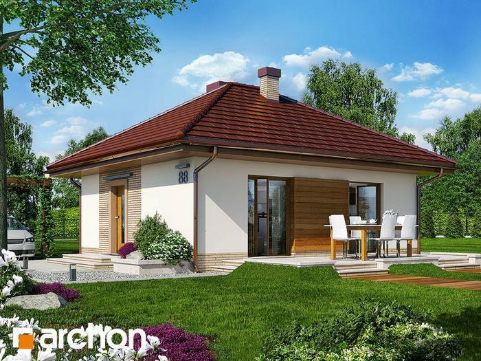Archon+ Dom w kuklikach ver.2 (powierzchnia 48.51 m2)