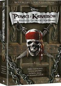 Piraci z Karaibów Kolekcja 1-4 DVD) Gore Verbinski
