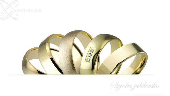 Eminence Obrączki złote - classic