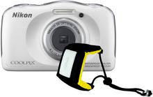 Nikon Coolpix W100 biały Holiday kit