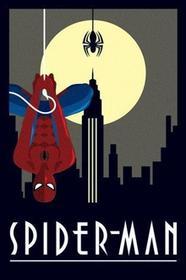 Marvel Deco - Wiszący Spider Man Plakat