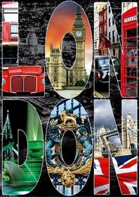 Educa 6-016786 Puzzle Londyn kolaż