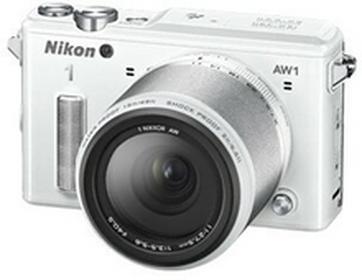 Nikon1 AW1 + 11-27.5 mm biały