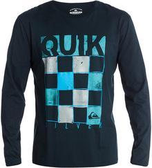 Quiksilver T-shirt Baseline EQYZT00003-KTP0 Czarny