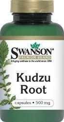 SWANSON Kudzu Root 500 mg 60 szt.