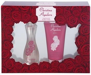 Christina Aguilera Touch of Seduction woda perfumowana 30 ml + żel pod prysznic 50 ml